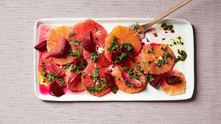 greyfurt ve pancar salatası