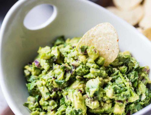 Avakado Salatası:Guacamole