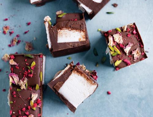 Çikolatalı Marshmellow Kareleri