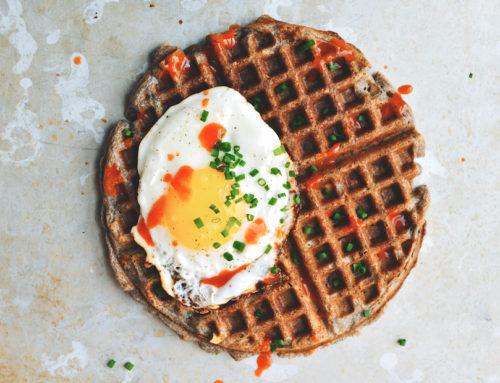 Jambonlu Waffle