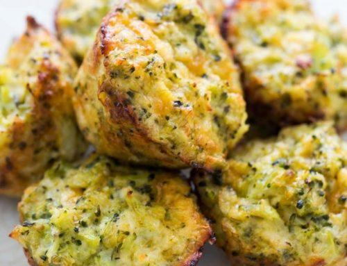 Brokoli ve Çedarlı Lokmalar